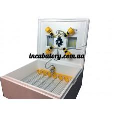 Инкубатор автоматический для яиц Теплуша на 63 яйца