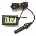 Влагометр термометр для инкубатора цифровой с выносным датчиком +120грн