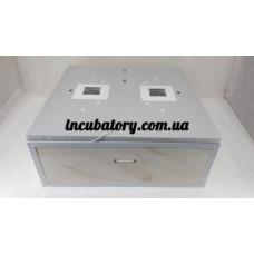 Инкубатор Курочка Ряба 130 с вентилятором и механическим переворотом