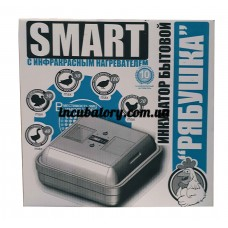 Домашний инкубатор Рябушка Smart на 70 яиц механическим переворотом, аналоговый